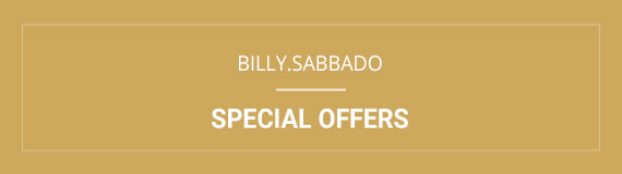 Billy Sabbado Special offers