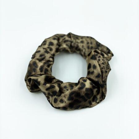 Γυναικείο Λαστιχάκι Μαλλιών Καφέ , Animal print